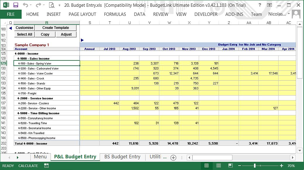 Budgetlink